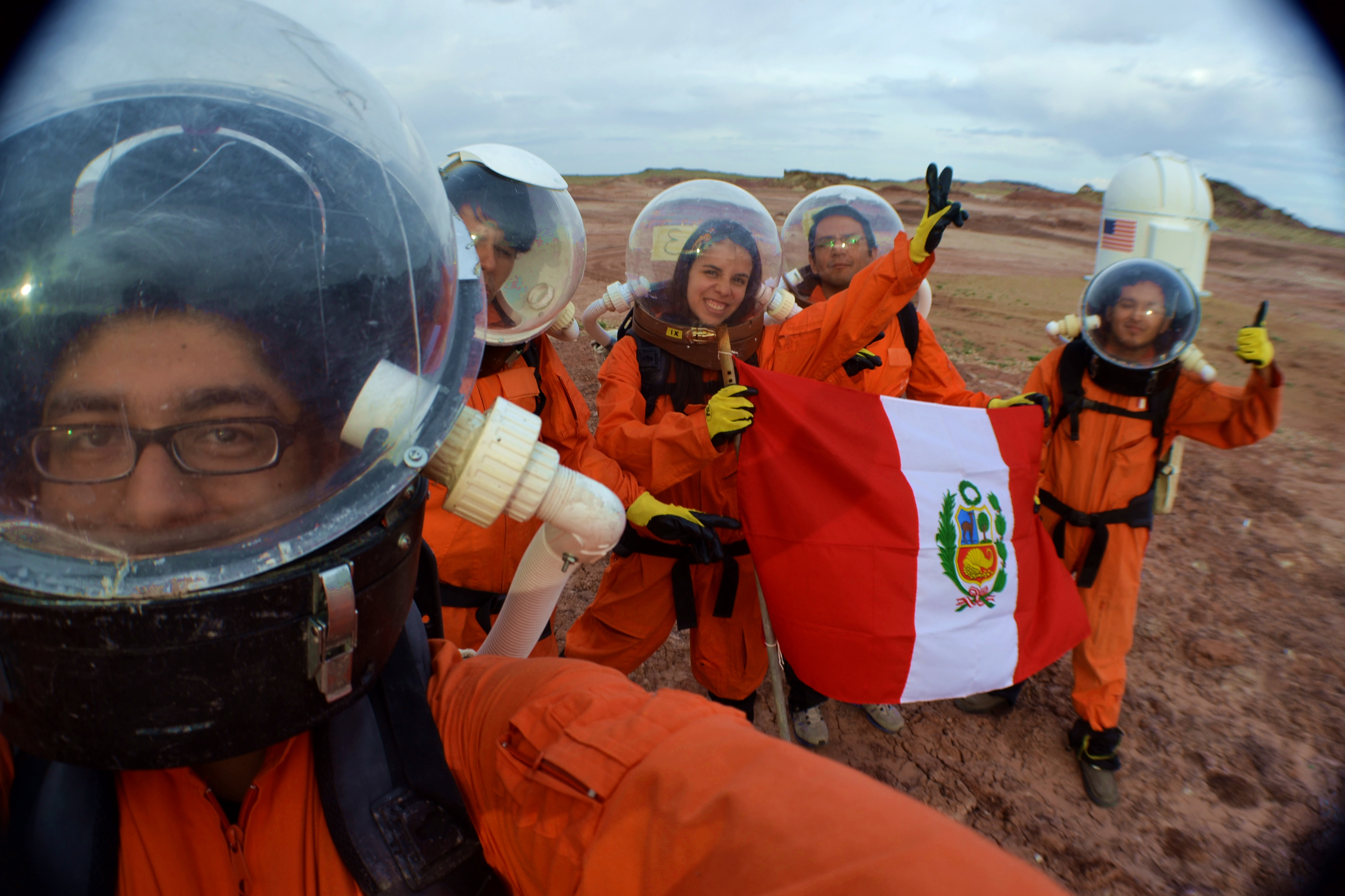 Header Image - The Mars Society - Peru Chapter