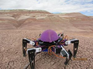 Hexapod explorer